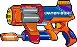 开枪水 向量例证