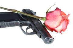 开枪玫瑰色 免版税库存照片