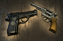 开枪背景 免版税库存照片