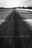 开汽车跑道 图库摄影