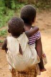 开玩笑卢旺达 库存图片