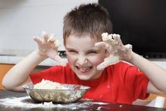 开玩笑厨房 图库摄影