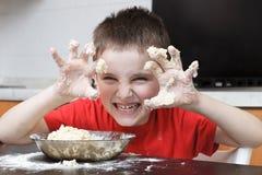 开玩笑厨房 免版税库存图片