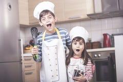 开玩笑厨房 免版税库存照片