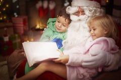 开玩笑圣诞老人 免版税图库摄影