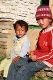 开玩笑尼泊尔 免版税库存照片
