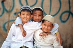 开玩笑穆斯林 免版税库存照片