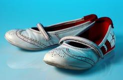 开玩笑老鞋子 库存图片