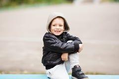 开玩笑都市 乳牙损失对于儿童 库存图片