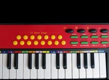 开玩笑钢琴 免版税库存照片