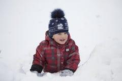 开玩笑结构冬天 库存照片