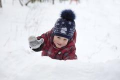 开玩笑结构冬天 免版税库存照片