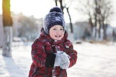 开玩笑结构冬天 免版税库存图片