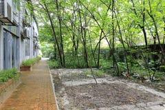 离开的工厂在redtory创造性的庭院,广州,瓷里 免版税库存图片