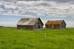 离开的房子在鬼城多萝西 图库摄影