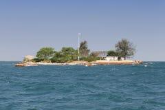 离开的海岛海运 库存照片