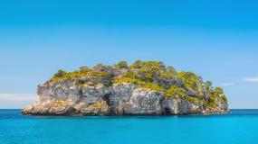 离开的海岛 库存图片