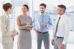 开的雇员业务会议 库存图片