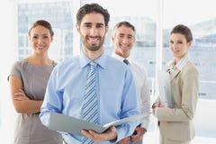 开的雇员业务会议 免版税库存照片