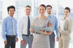 开的雇员业务会议 免版税库存图片