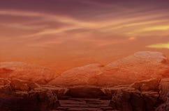 离开的类地行星 幻想默示录 免版税图库摄影