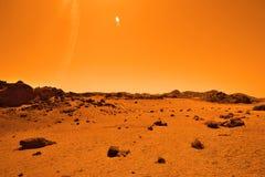 离开的类地行星 免版税图库摄影