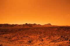 离开的类地行星 免版税库存图片