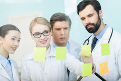开的医生工作会议 免版税图库摄影