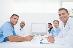 开的医生队会议 免版税图库摄影