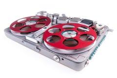 开盘式的录音磁带记录器wsr 3 库存照片
