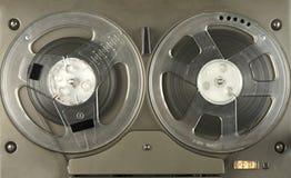 开盘式的球员和记录器 免版税图库摄影