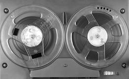 开盘式的球员和记录器 库存照片