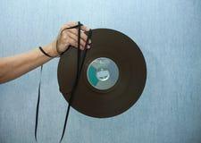 开盘式的磁带 免版税库存照片
