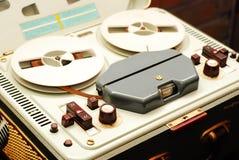 开盘式的记录器 库存照片
