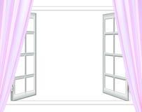 开窗口隔离 免版税图库摄影