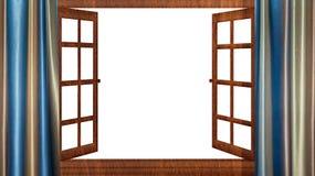 开窗口隔离 库存图片
