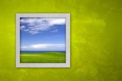 开窗口 免版税库存照片