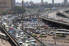 开罗交通 免版税库存照片