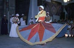 开罗伊斯兰教苦行僧埃及sufi旋转 免版税图库摄影
