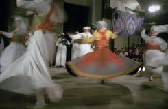 开罗伊斯兰教苦行僧埃及sufi旋转 图库摄影