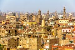 开罗伊斯兰老城看法  图库摄影