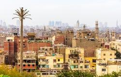 开罗伊斯兰老城看法  库存图片
