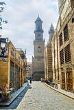 开罗伊斯兰老城秘密  库存照片