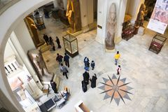 开罗博物馆埃及 免版税图库摄影