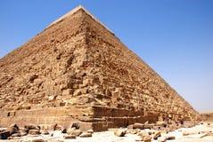 开罗吉萨棉kefren金字塔 免版税库存照片