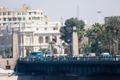 开罗和尼罗河 库存图片