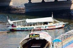 开罗和尼罗河 免版税图库摄影