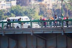 开罗和尼罗河 免版税库存照片
