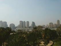 开罗和河尼罗 免版税图库摄影