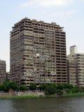 开罗在埃及:街道和大厦 免版税库存图片